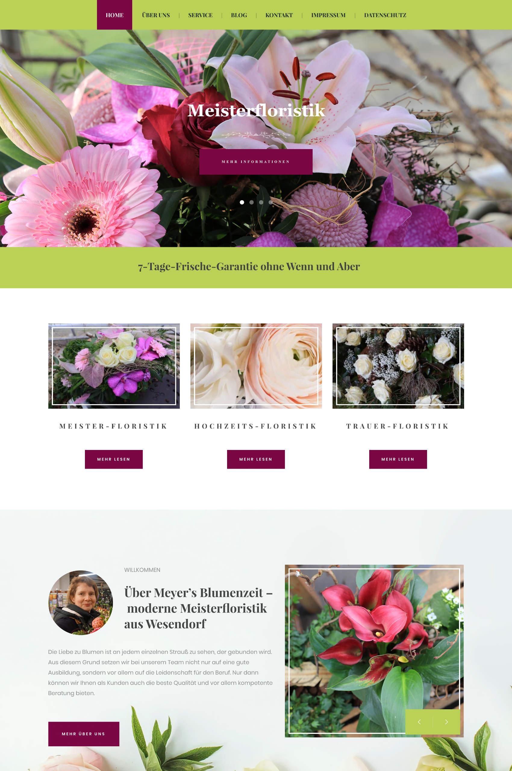 Blumenzeit Startseite